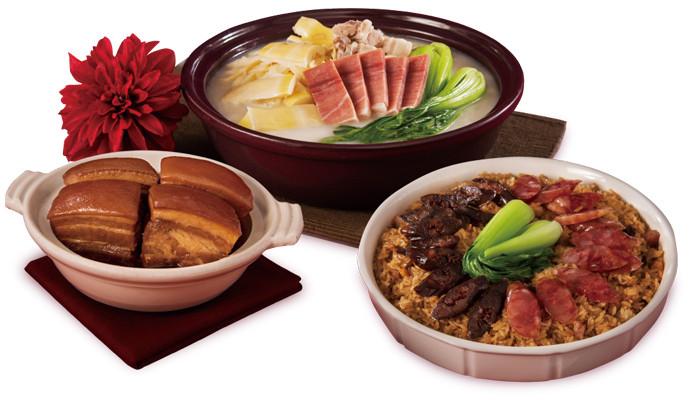 米其林名廚上菜 國宴料理全套好運到